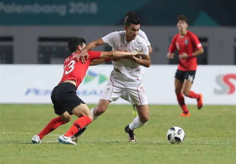 بازی های آسیایی 2018، حذف تیم فوتبال امید با شکست مقابل کره جنوبی