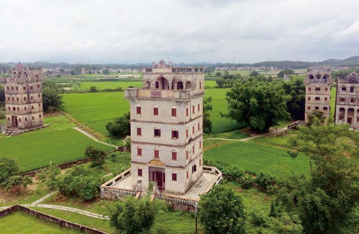 کینگینگ دیالو و روستاهای سایت های میراث جهانی یونسکو در گوانجو