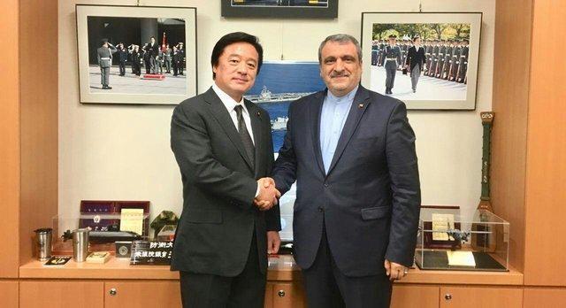 دیدار سفیر کشورمان با رییس کمیته روابط خارجی مجلس نمایندگان ژاپن
