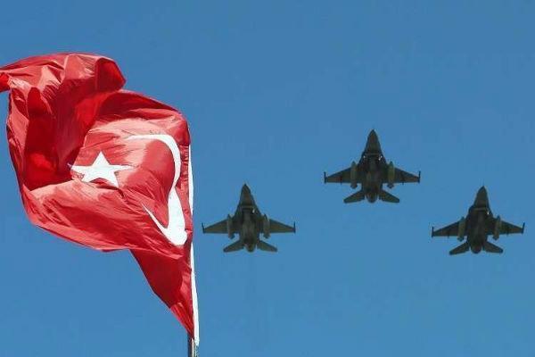 ادامه عملیات هوایی ارتش ترکیه در عراق