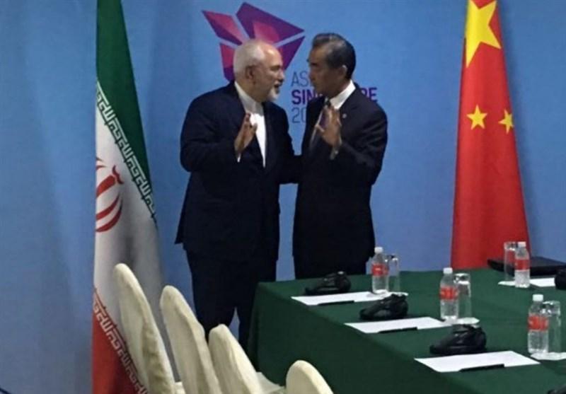 ظریف با وزرای خارجه چین، اندونزی و نیوزیلند دیدار کرد