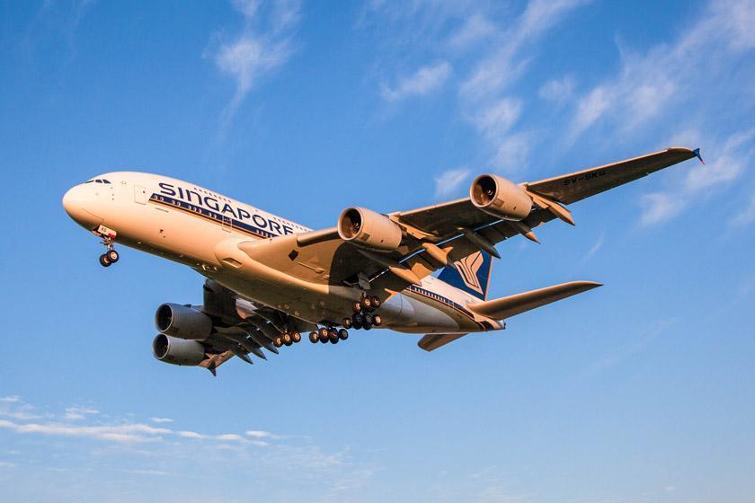 آشنایی با کلاس های پرواز هواپیمایی سنگاپور