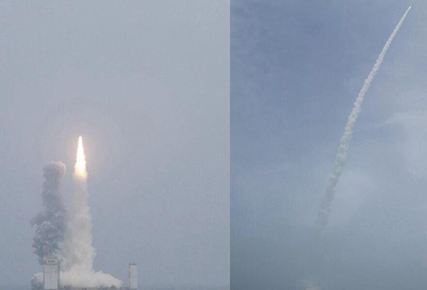 چین از دریا ماهواره به فضا پرتاب کرد