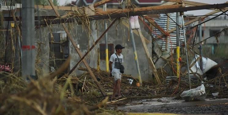 جان باختگان طوفان فیلیپین به 47 نفر افزایش یافت