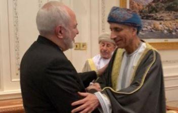 ملاقات ظریف با معاون پادشاه عمان