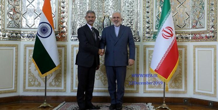 وزیر خارجه هند با ظریف ملاقات کرد