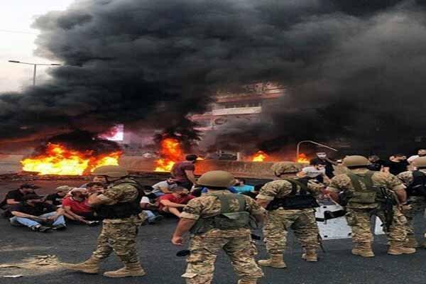 تداوم ناآرامی ها در شمال لبنان، درگیری مقابل منزل نماینده مجلس