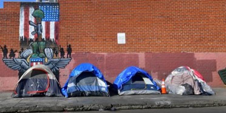 آمریکا: بحران بی خانمان ها در کالیفرنیا به سطح هشدار رسیده است