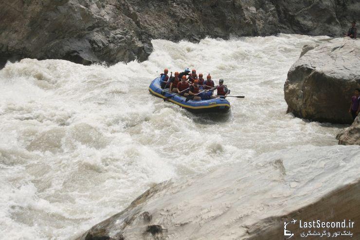 بهترین رودخانه های جهان برای رفتینگ