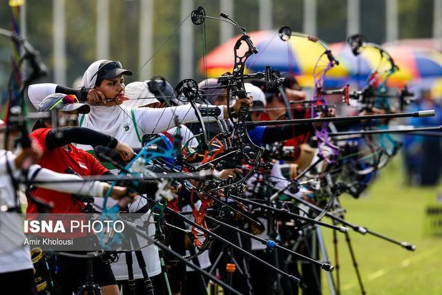 هفتمی ریکرو بانوان در جدول مقدماتی قهرمانی آسیا، زهرا نعمتی در رده 33