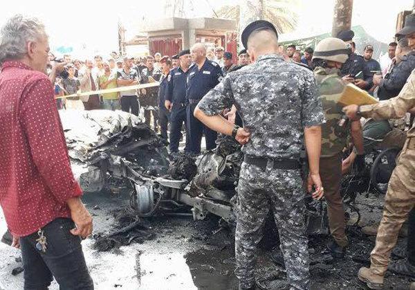 9 زخمی در 3 انفجار بغداد