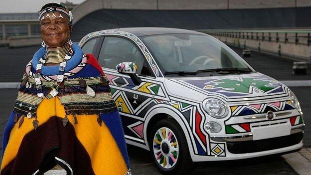 هنر آفریقا در طراحی رولزرویس