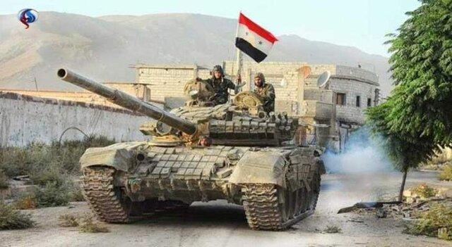 ورود ارتش سوریه به شهر استراتژیک سراقب