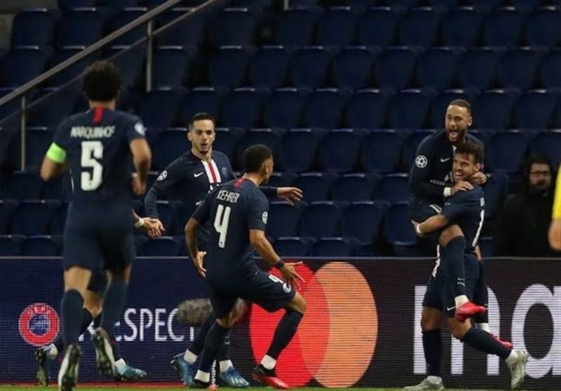 لیگ قهرمانان اروپا، پاری سن ژرمن در استادیوم خالی دورتموند را حذف کرد