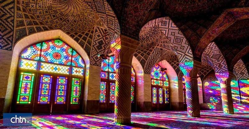 بازسازی درهای شبستان غربی مسجد نصیرالملک شیراز