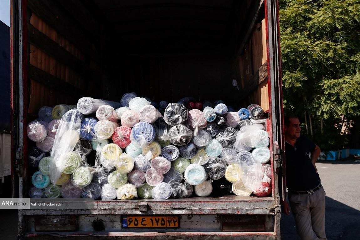 کشف 4 میلیاردی پارچه های قاچاق در تهران