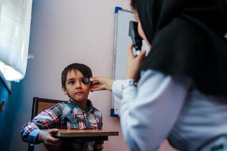 خبرنگاران سنجش تنبلی چشم بچه ها مازندرانی از15 تیرماه شروع می گردد