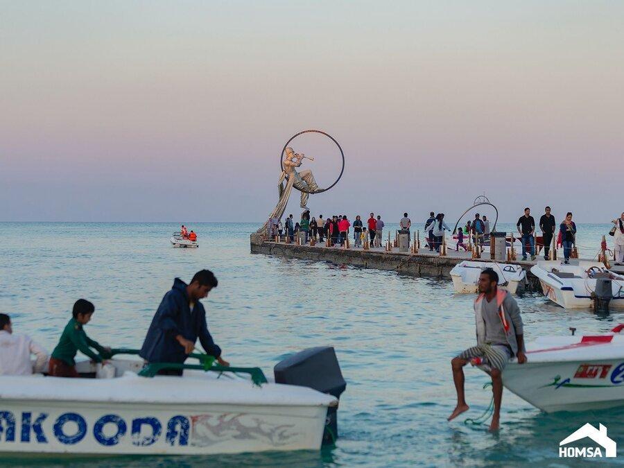 سفر امن به جزایر کیش و قشم با اجاره ویلای تمیز