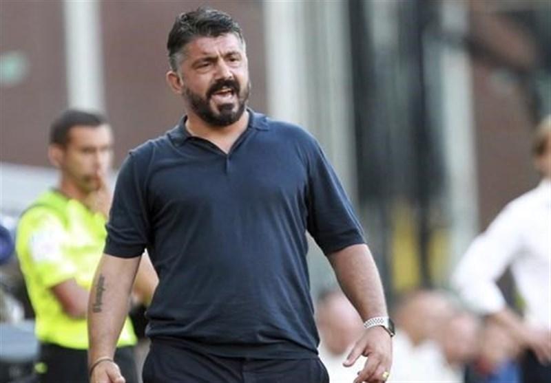 گتوسو: نباید از حالا ذهن مان را درگیر بازی با بارسلونا کنیم، گل های زیادی دریافت می کنیم