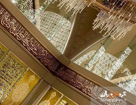 مسجد شاکرین؛مسجد مدرن و شیشه ای استانبول، عکس
