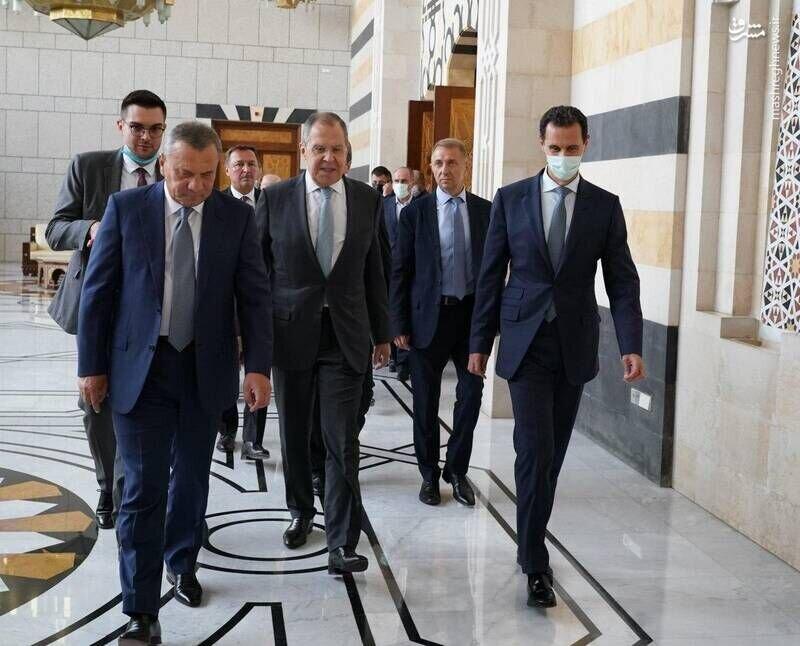 لاوروف با بشار اسد در دمشق ملاقات کرد