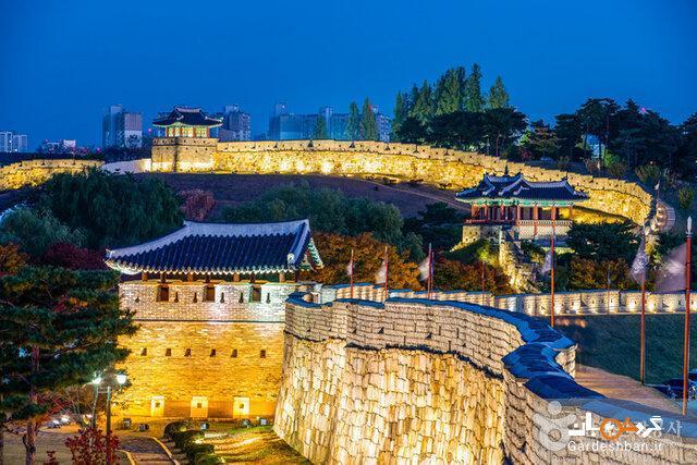 جاذبه های گردشگری سرزمین پارک مدرن و خانه های سنتی کره