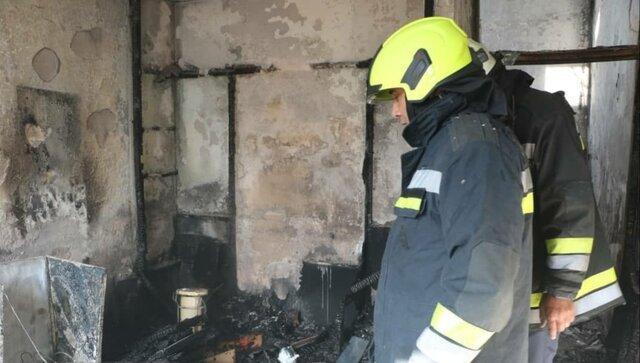 آتش سوزی دو منزل مسکونی به فاصله نیم ساعت