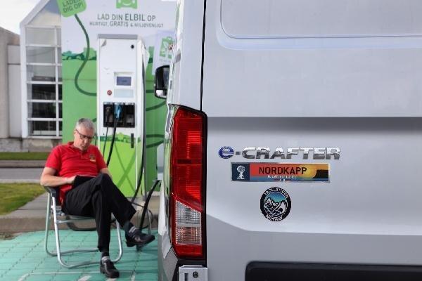 رکوردشکنی خودروی کمپ برقی فولکس واگن
