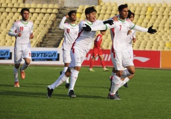 دومین پیروزى تیم فوتبال نوجوانان ایران مقابل تاجیکستان