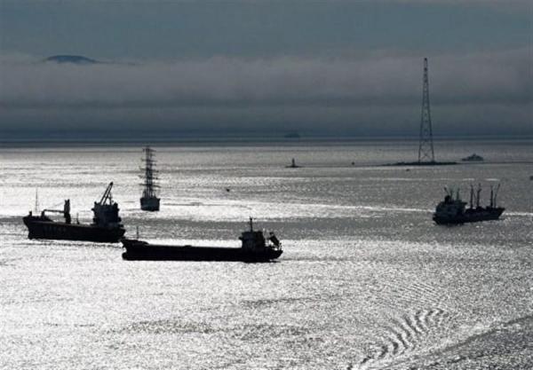 توقیف یک کشتی کره ای در آب های خلیج فارس توسط سپاه