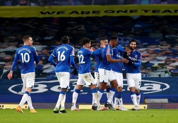 جام حذفی انگلیس، اورتون هم در جمع 16 تیم پایانی قرار گرفت