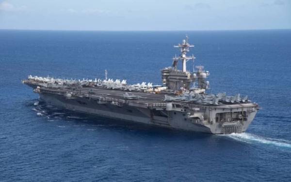 اعزام 2 ناوهواپیمابر آمریکا به دریای چین جنوبی برای تمرینات نظامی