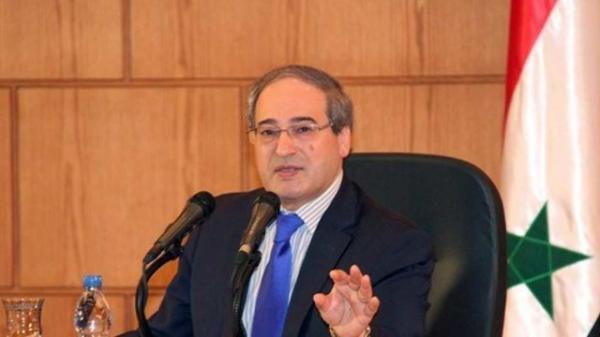 فیصل مقداد: غرب با پرونده آوارگان برخورد سیاسی دارد