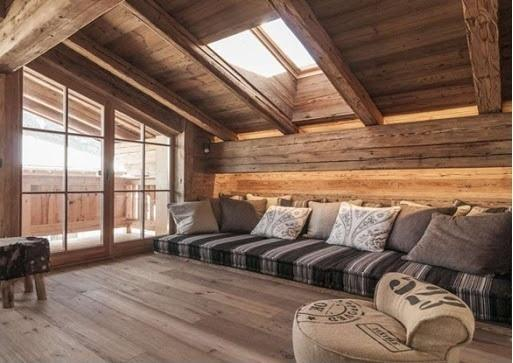 ویلای چوبی مدرن یا سنتی ؟