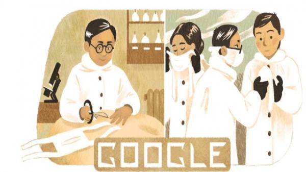 تغییر لوگوی گوگل به مناسبت زادروز مخترع ماسک جراحی