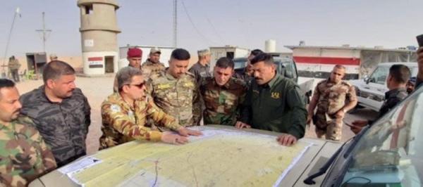 عملیات حشد شعبی در نزدیکی مرز عربستان