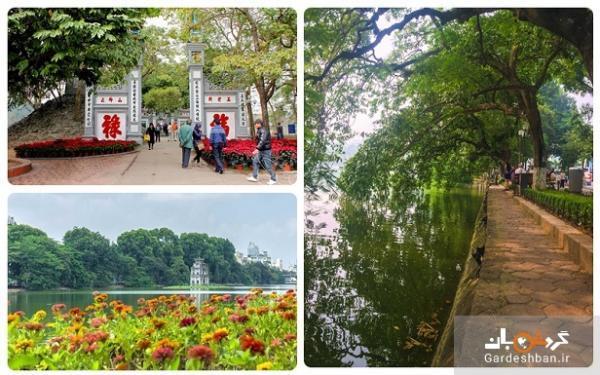 دریاچه هوان کیم؛ زیبایی و آرامش بی نظیر در ویتنام