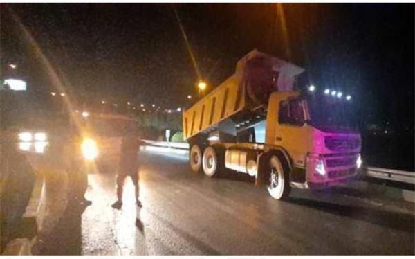 ممنوعیت تردد کامیون ها در شب های قدر ادامه دارد؛ توقیف 250 کامیون
