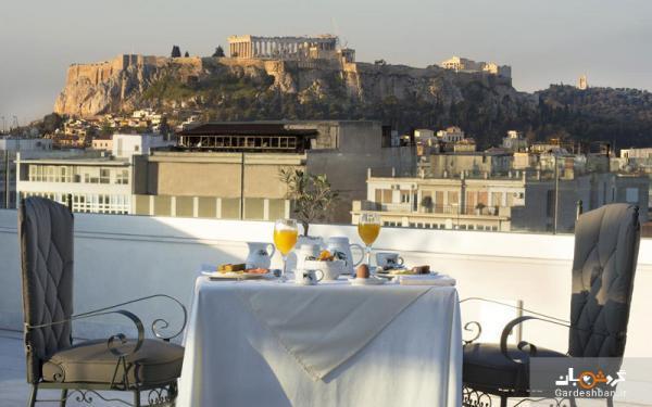 هتل 5 ستاره تیتانیا ؛اقامتی لوکس در شهر تاریخی آتن، عکس