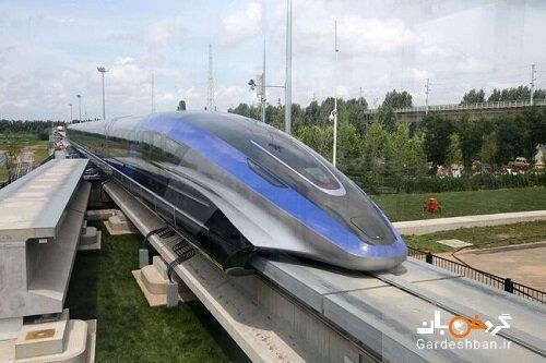 رونمایی از سریع ترین قطار دنیا در چین ، تصاویر
