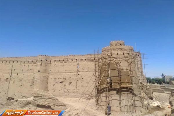 یادگار دوران ساسانی در شاهدیه یزد بازسازی شد