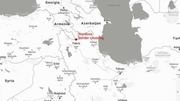 جهت تردد زمینی به ارمنستان بسته شد